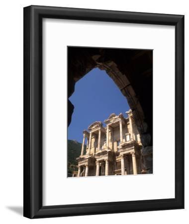 Ruins of Library, Bibliotheque of Celsius, Ephesus, Turkey