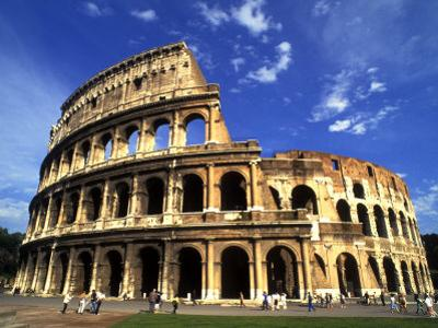 Ruins of the Coliseum, Rome, Italy by Bill Bachmann
