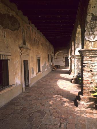 San Juan Capistrano Gardens, Home of the Swallows Mission, California, USA