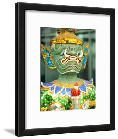 Sculpture of Mask in Bangkok, Thailand