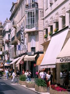 Shopping Scenic, Cannes, France by Bill Bachmann