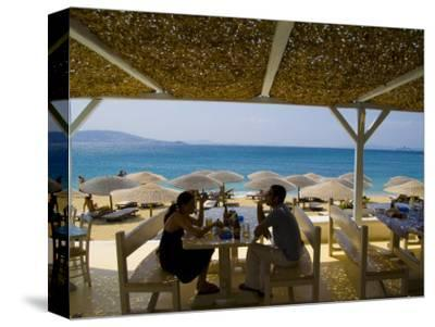 St. Stefanos Beach, Mykonos, Greece