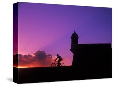 Sunset Bike Ride at El Morro Fort, Old San Juan, Puerto Rico