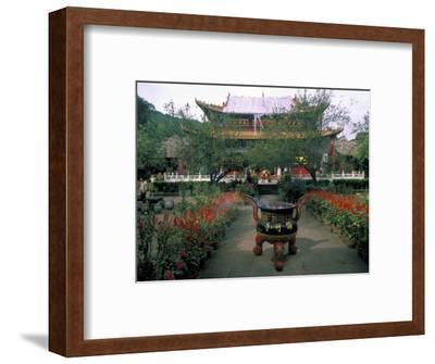 Temple Beauty of Bamboo Village, Kunming, China