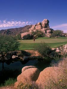 The Boulders Golf Course, Scottsdale, Arizona by Bill Bachmann