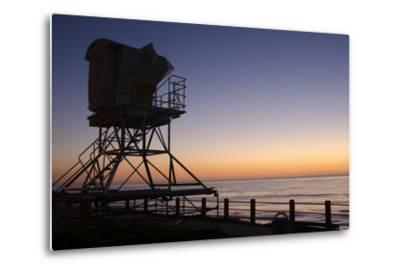 The Cove with lifeguard stand, La Jolla, San Diego, California, USA