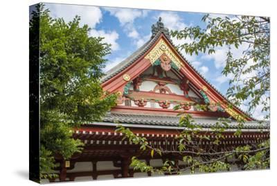 Tokyo, Japan. Sensoji Temple at Tokyo's Oldest Temple Built in 645