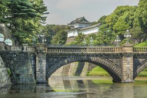 Tokyo, Japan. Traditional Imperial Gardens in Downtown by Bill Bachmann