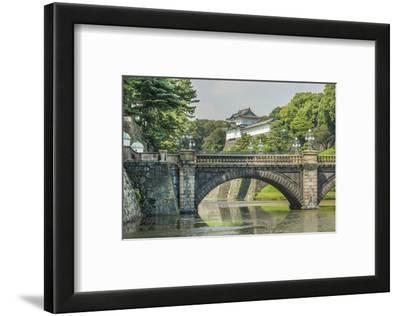 Tokyo, Japan. Traditional Imperial Gardens in Downtown