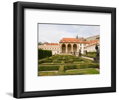 Wallenstein Gardens in the Old Town District, Prague, Czech Republic