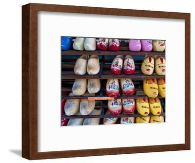 Wooden Dutch Shoes for Sale for Souvenirs in Town of Edam, Netherlands