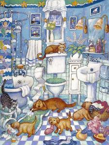 Bathroom Pups by Bill Bell