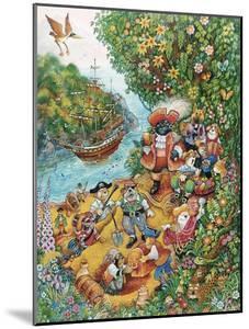 Black Dog's Treasure Island by Bill Bell
