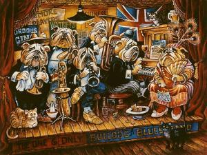 Bull Dog Blues Band by Bill Bell