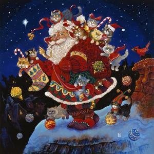 Here Comes Santa Claus by Bill Bell