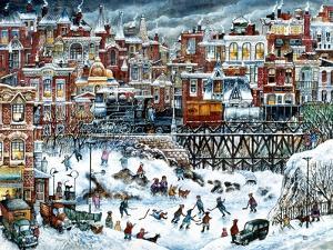 Hockey Night by Bill Bell