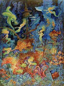 Mermaids of Atlantis by Bill Bell