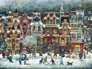 Montreal Winter by Bill Bell