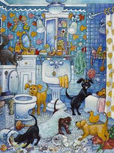 More Bathroom Pups by Bill Bell