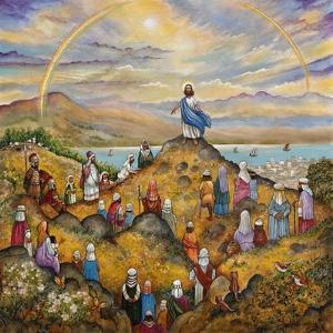 Sermon on Mount by Bill Bell
