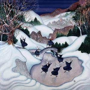 Skating Nuns 2 by Bill Bell