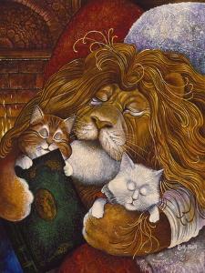 Sleeping Lion by Bill Bell