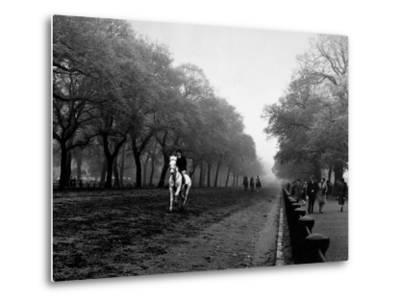 Rider on Horseback in Hyde Park