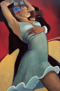 Scarlet Dancer by Bill Brauer