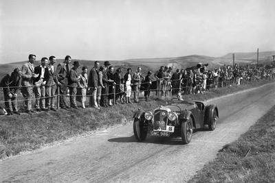Atalanta of GAT Weldon competing at the Bugatti Owners Club Lewes Speed Trials, Sussex, 1937