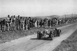 Atalanta of GAT Weldon competing at the Bugatti Owners Club Lewes Speed Trials, Sussex, 1937 by Bill Brunell