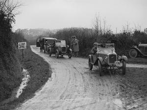 Austins of WCH Pitts and JC Thorowgood competing in the MCC Exeter Trial, 1928 by Bill Brunell