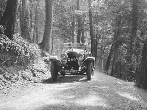 Bentley of SB Harris taking part in the North West London Motor Club Trial, 1 June 1929 by Bill Brunell