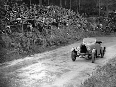 Bugatti Type 40 of Miss C Turner at the Shelsley Walsh Amateur Hillclimb, Worcestershire, 1929