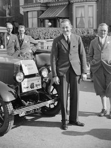 FF Austin with his winning Morris Cowley at the Southport Rally, 1928 by Bill Brunell