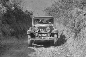 Gardner of HH Vaughan-Knight competing in the MCC Lands End Trial, Beggars Roost, Devon, 1929 by Bill Brunell