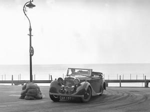 Jaguar SS of RM Proctor at the RAC Rally, Brighton, Sussex, 1939 by Bill Brunell