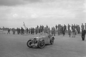 MG J2 of AWF Smith competing in the RSAC Scottish Rally, 1934 by Bill Brunell