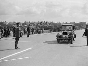 Morris Cowley of FF Austin competing in the Southport Rally, 1928 by Bill Brunell