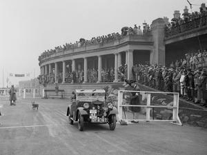 Morris Minor of T Wagner competing in the Blackpool Rally, 1936 by Bill Brunell