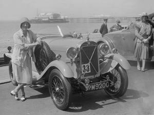 Salmson of Mrs PJM Midgley at the B&HMC Brighton Motor Rally, Brighton, Sussex, 1930 by Bill Brunell