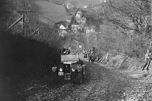 Singer Junior of RW Everard competing in the MCC Lands End Trial, Beggars Roost, Devon, 1929 by Bill Brunell