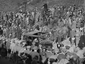 Swift competing in the MCC Lands End Trial, Beggars Roost, Devon, 1929 by Bill Brunell