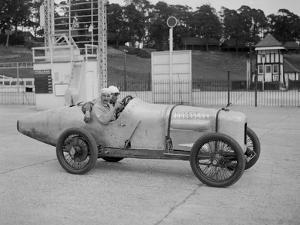 Talbot-Darracq of Jean Chassagne, JCC 200 Mile Race, Brooklands, 1922 by Bill Brunell