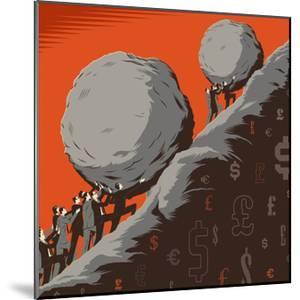 Uphill Struggle by Bill Butcher
