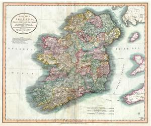 New Map of Ireland by Bill Cannon