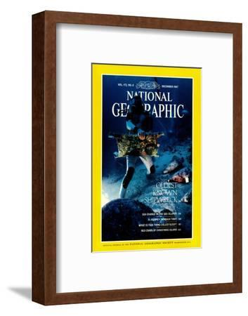 Cover of the December, 1987 National Geographic Magazine
