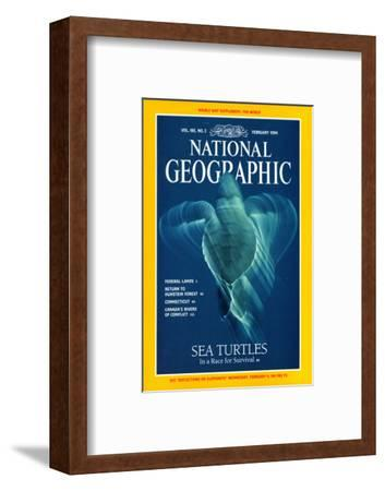 Cover of the February, 1994 National Geographic Magazine