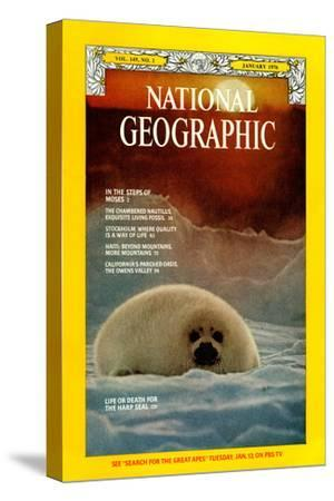Cover of the January, 1976 National Geographic Magazine
