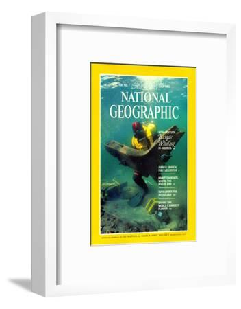 Cover of the July, 1985 National Geographic Magazine