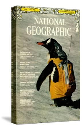 Cover of the November, 1971 National Geographic Magazine